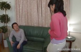 Charming mature Satomi Nomiya is being a real pro with fellow she likes a lot