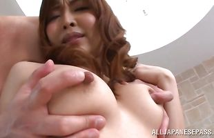Playful minx Hikari Kasumi was eager to get fucked hard, until she cums