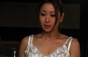 Elegant mature diva Yuu Kawakami takes a meat member from behind