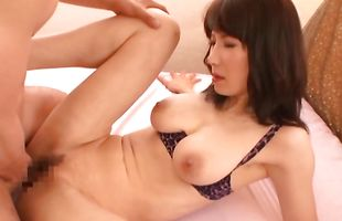 Naughty mature Misa Arisawa and her wet quim are eager to fuck