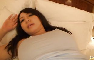 Prurient Ai Takeuchi receives a huge meat bazooka in her tight snatch
