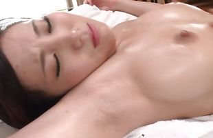 Rough doggystyle hammering for striking busty mature Mao Kurata