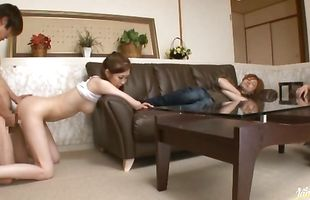 Sexy mature Kotone Amamiya yearns to be fucked so hard