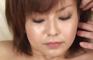 Attractive Rio Kurusu is cheating on her husband with fuckmate she just met