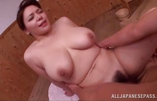 Mature Mizuki Ann with large tits has a sex marathon