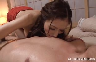 Pungent mom JULIA gets talked into sucking dinky