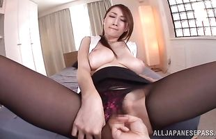 Fang rams tight taco of an ambitious busty mature babe JULIA
