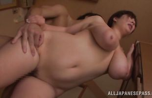 Busty Ran Niiyama is naughty and ready to satisfies her fellow