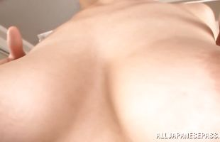 Sensual milf Ki Hanyuu getting her soaking wet taco fucked dearly with passion