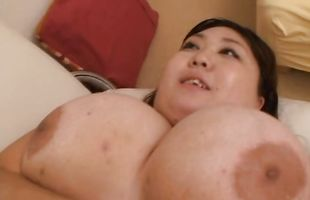 Charming mature Hitomi Matsumoto loves to be intensely banged by a big fang