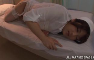 Magnificent mature sweetie Shiori Kamisaki seduced easily into a hot sexy fuck