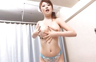 Beautiful mature Rio Hamasaki getting her wet pussy hammered up so damn wildly