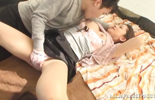 Amazing perfection Yuri Shirai spreads her legs for lover's thick pike