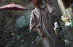 Engaging busty milf Tomoe Hinatsu gets licked and teased