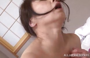 Dangler loving naked mature Yuuko Kuremachi is sucking and fucking all day long just for fun