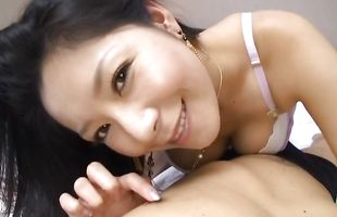 Wonderful busty mature hottie Ayane Asakura with perfect jugs gets naughty