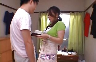 Amazing Reiko Yamaguchi hooked up with lover and got fucked like never before