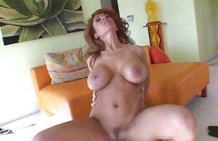 Hot-tempered redhead Sienna West doggystyle fucking