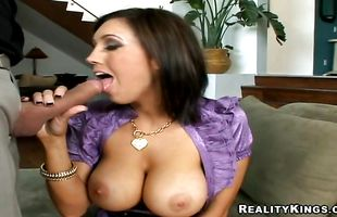 Astonishing babe Dylan Ryder got a pole up her tight poontang and enjoyed every single second of it