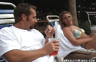Aphrodisiac Morgan can not hold back from sucking a rock hard donga and getting fucked hard