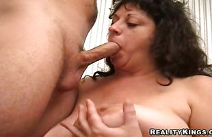 Lovely girlie Jenny bends over and gets drilled