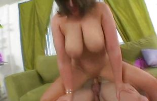 Pretty Lisa Sparxxx likes a big hard meat member in her mouth