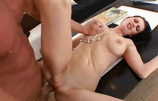 Sex appeal brunette mature Brandi Edwards fucked deep