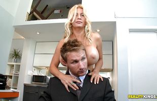 Sugary mom Ingrid Swenson gets plowed by hunk super hard