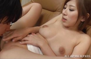 Luscious mature maiden Erika Kitagawa has a drink with her bf before being devastated