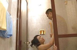 Luscious mature lady rides her bf's hard shaft