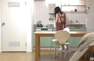 Wicked mature Miku Hasegawa enjoyed while dude was banging her from the back