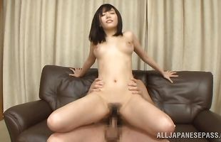 Mao Hamasaki is swingeing and enjoys riding a pulsating penis