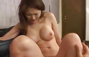 Magnificent woman Yuki Touma is pleased by her fellow's cock