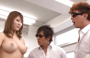 Mad mature girl Momoka Nishina is enjoying every second of cute fucking