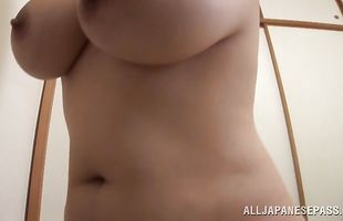 Insatiable busty mature chick Yuuna Hoshisaki is one who knows how to give a perfect blowjob