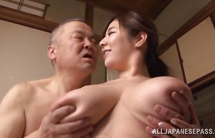 Hardcore therapy for fresh busty mature bombshell Ran Niiyama
