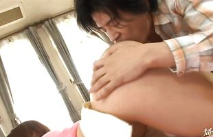 Divine busty mature perfection Reiko Nakamori is ready for some horny and hot action