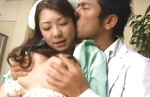 Prodigious mature Minori Hatsune gets pounded all night long by a bf