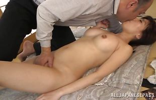 Busty mature Chihiro Akino gets banged in all her juicy cunt