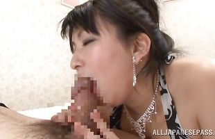 Stupefying Yukari Orihara has her ass plowed by a handsome mate