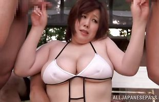 Amazing busty mature Mayu Koizumi engages in some really hardcore fucking