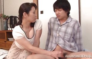Adorable floosy Yuuko Kuremachi fucking her buddy so damn hard