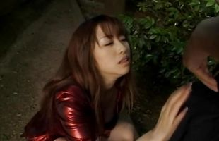 Wicked Mirai Hirooka needs a pecker to satisfy her needs