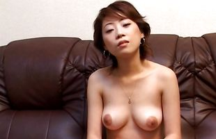 Awesome Seiko Tamaru enjoys sucking a big penis