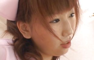 Mature Ai Sayama with fascinating eyes and shameless body is banged hard on cam