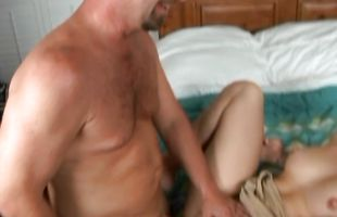 Sexual blonde lady Katerina just loves to be fucked