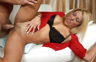 Super exciting fuck between delicious blonde Roxy Ryder and horny mate