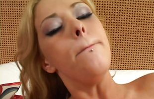 Mature latin minx Sabrina has intense appetite for stiff meat bazooka